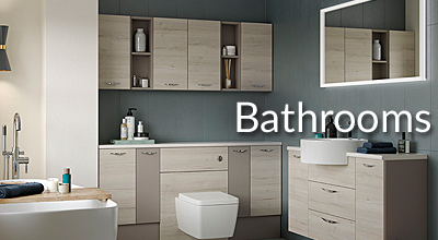 Stunning traditional and comtemporary bathrooms, from full bathroom suites to showers, loo, basin and bathroom furniture