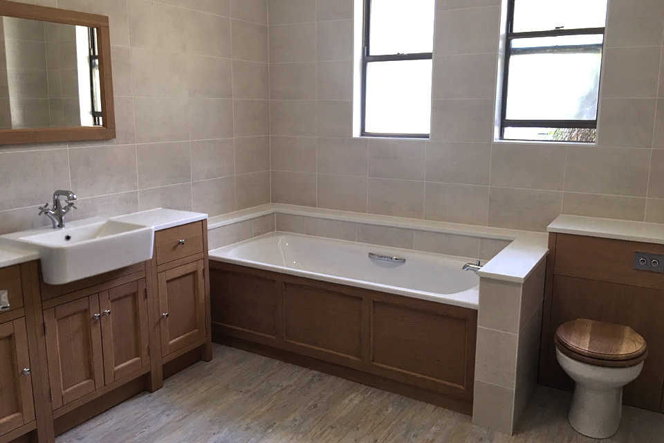 One of our recent bathroom installs: Avon Kitchens and Bathrooms - Ringwood, New Forest.