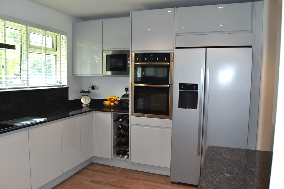 Avon Kitchens and Bathrooms - Ringwood, New Forest. Customer's Kitchen